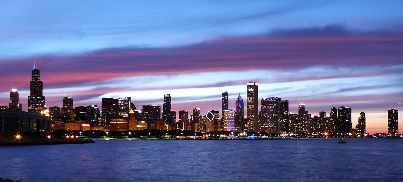 Chicago Skyline by NeverEndingAdventres