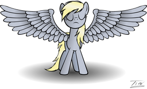 Derpy's epic wings by Tim244