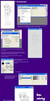 PSP Tutorial ch.1 -Lineart- by Tobasko