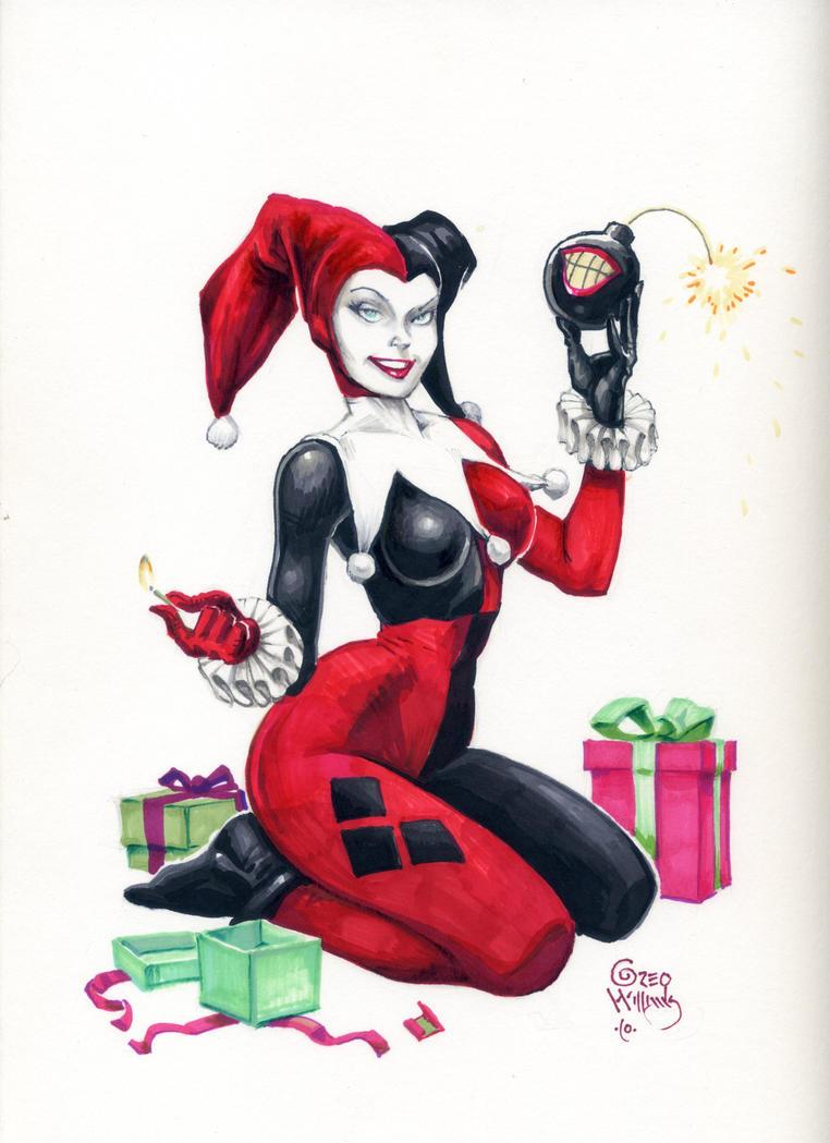 Harley Quinn by PlanetDarkOne