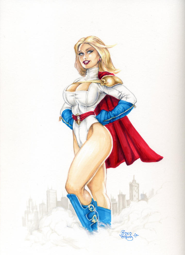 Power Girl 5 by PlanetDarkOne
