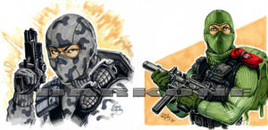 Firefly and Beachhead by PlanetDarkOne