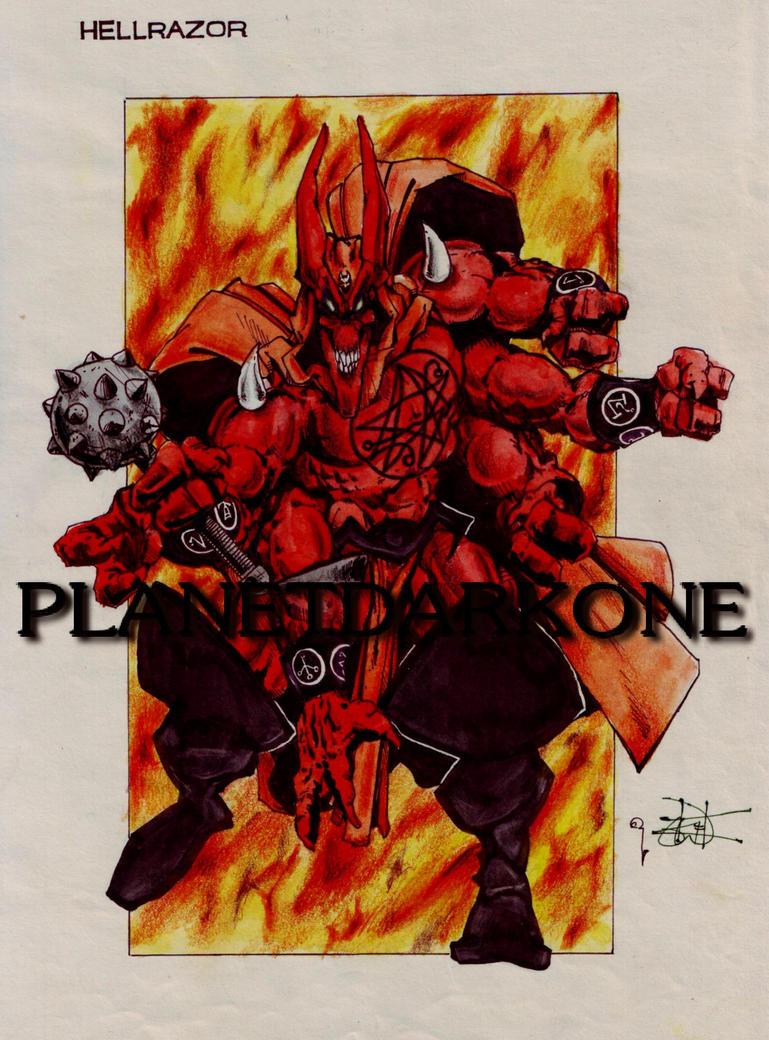 Hellrazor 88 by PlanetDarkOne