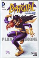 BATGIRL 38 Sketch cover by PlanetDarkOne