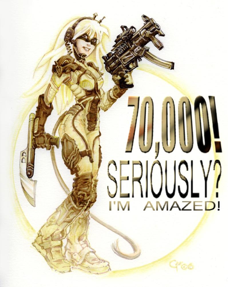 70,000 by PlanetDarkOne