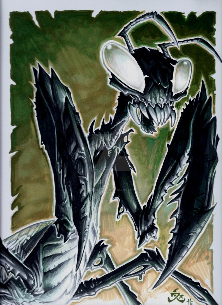 Venom MANTIS by PlanetDarkOne