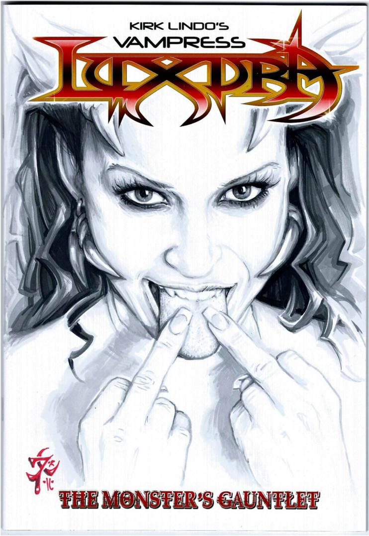 LUXURA  Sketch Cover by PlanetDarkOne