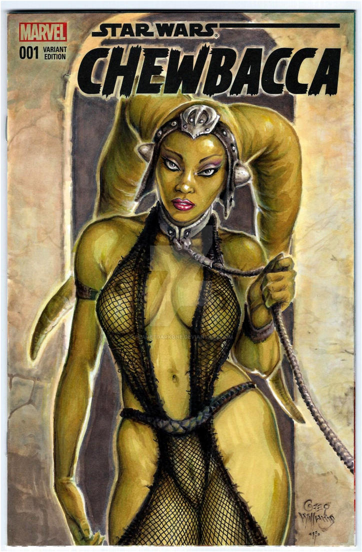 Oola the slave... by PlanetDarkOne