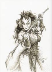 Ryntha sketch 6 o9119 by PlanetDarkOne