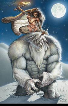 Cavewoman YETI Cover