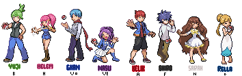 Gym Leaders by Minto-sama