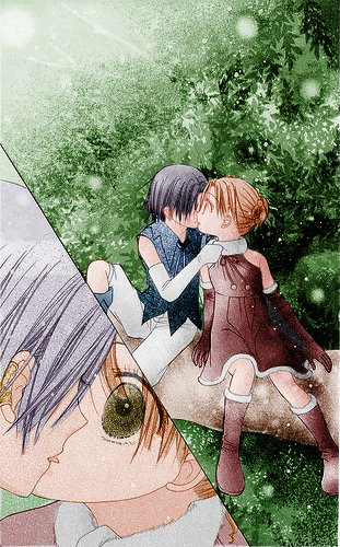 anime couples kiss. Anime Couples - Page 181