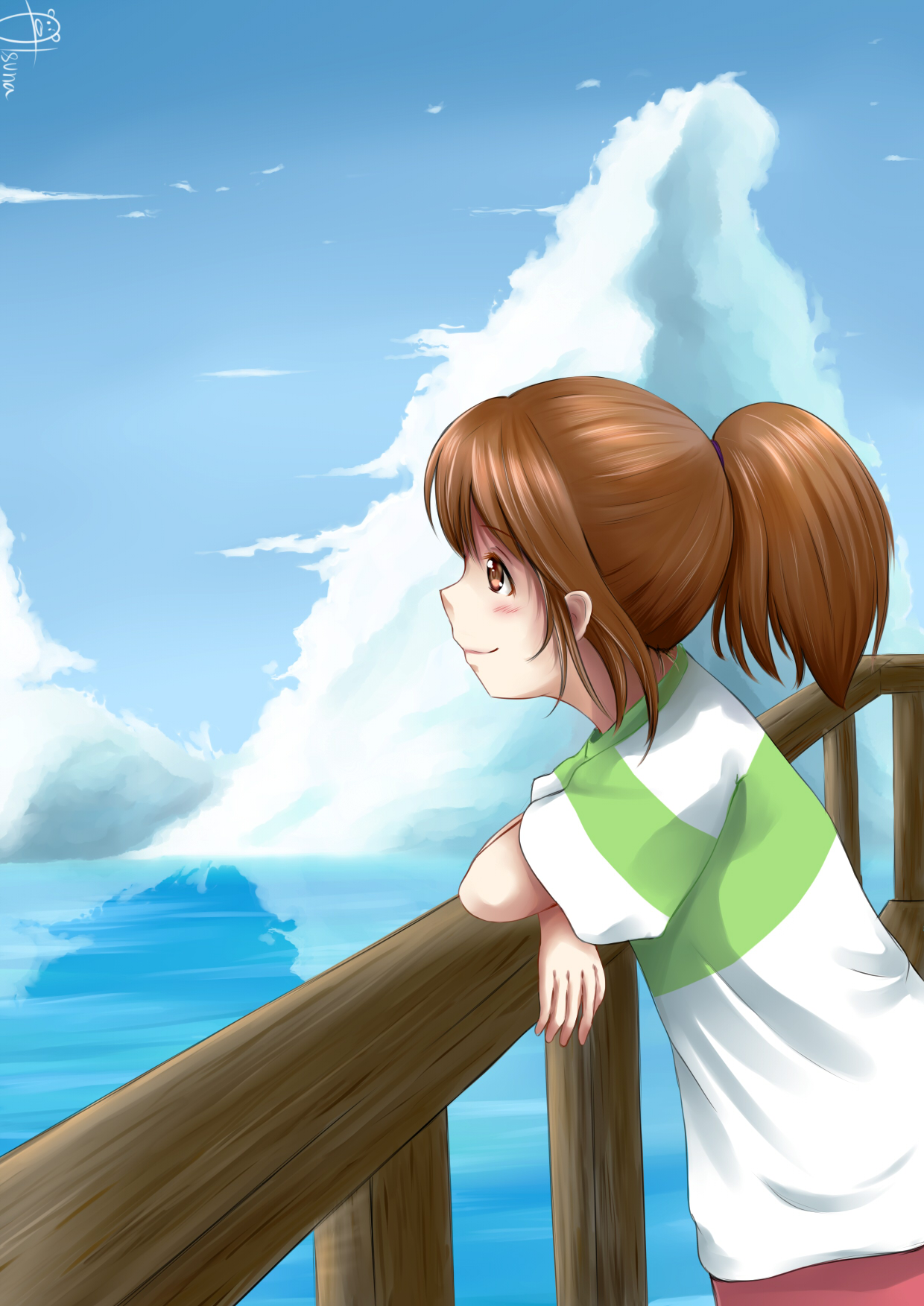 Fan Art Spirited Away Chihiro By Selvaria B On Deviantart