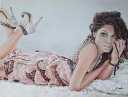 Freida Pinto by andylloyd