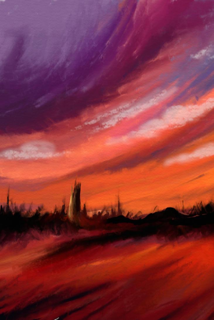 Red Plain by SrSilversky
