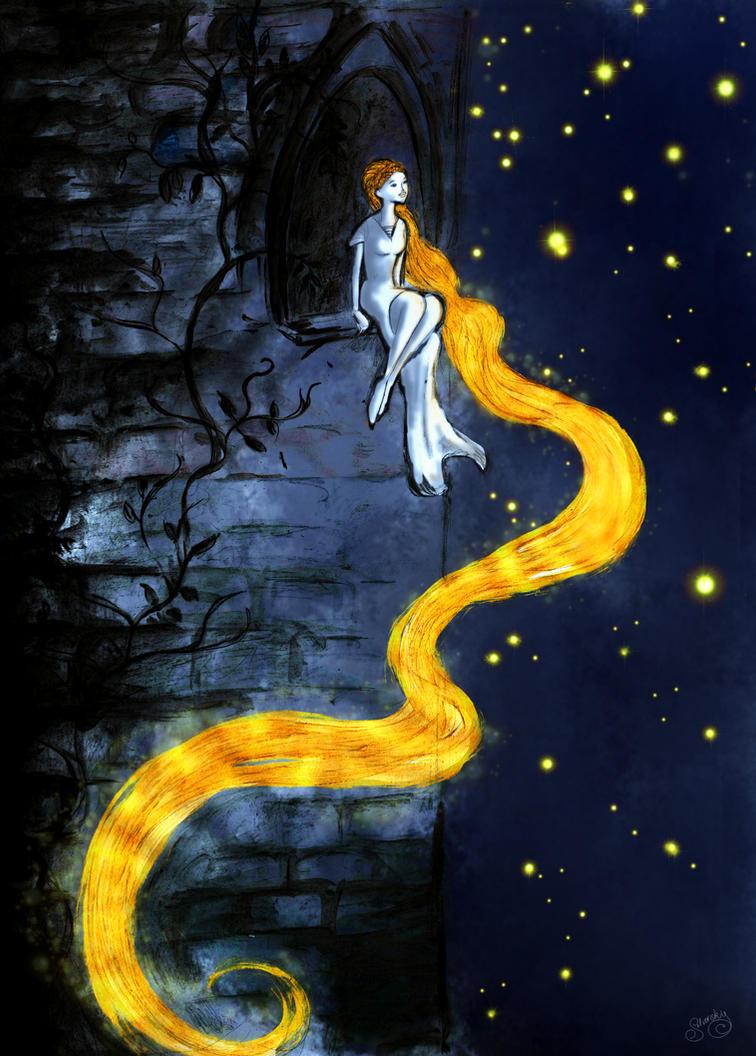 Rapunzel's dream by SrSilversky