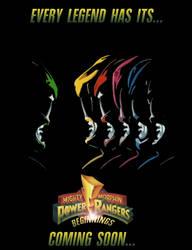 MMPR: Beginnings teaser poster by DrZoidSpock