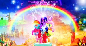 Friendship is Truly Magic Forever by Thunder-Artist