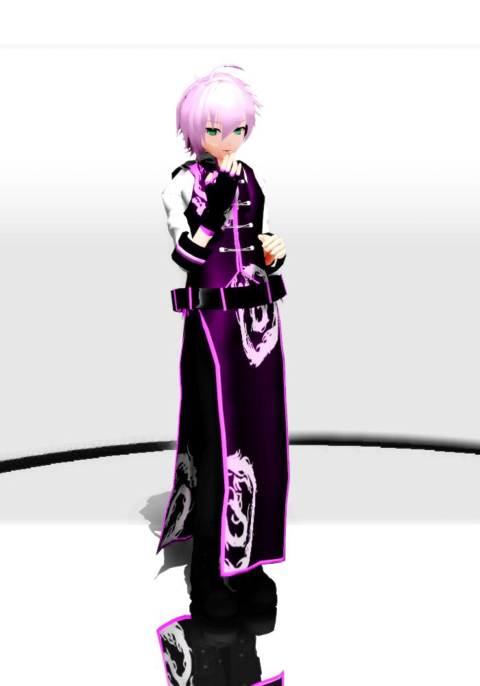 VY2 Yuma: Asian attire ver. by oOIchibiOo