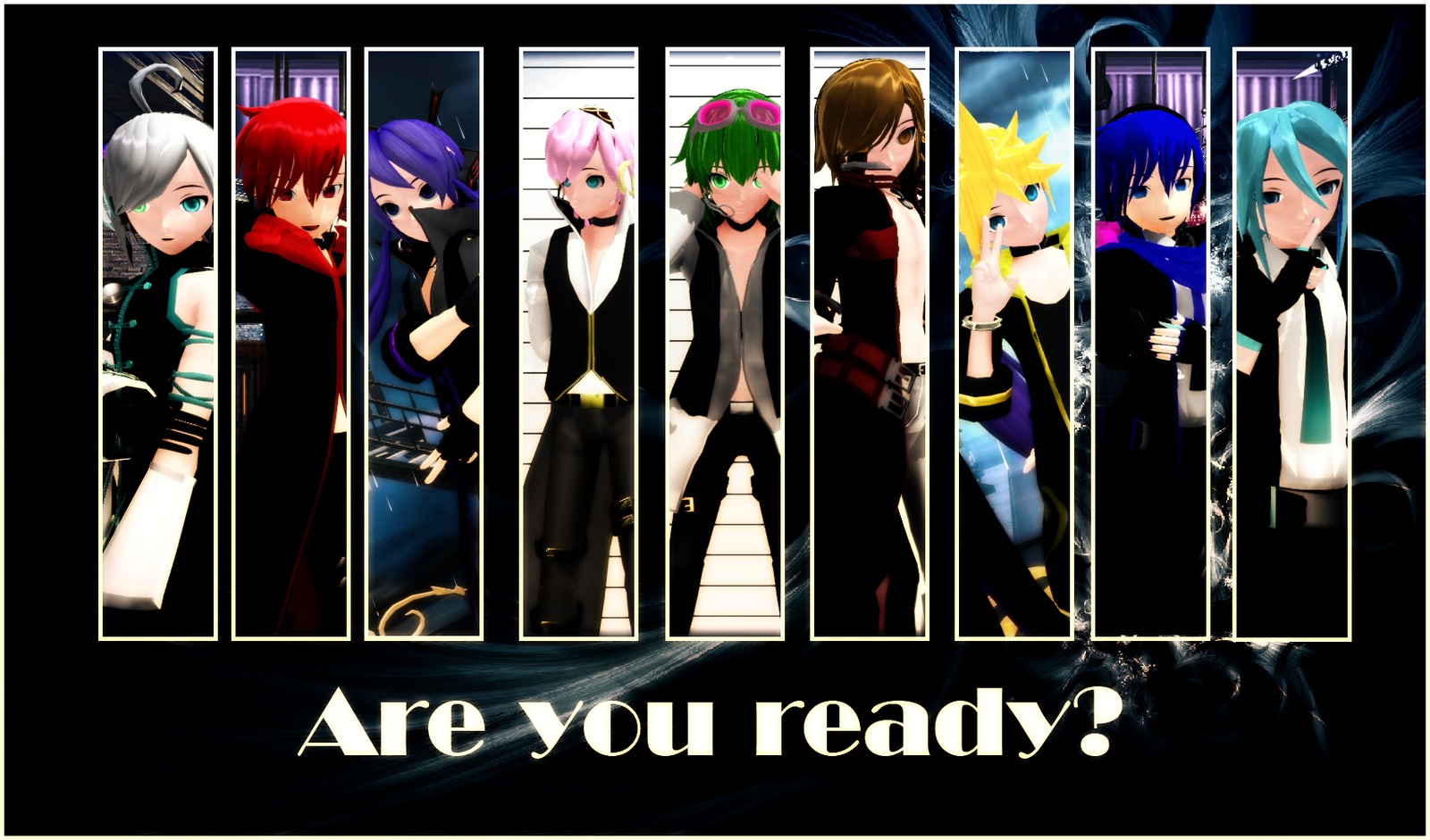 Are you ready? by oOIchibiOo