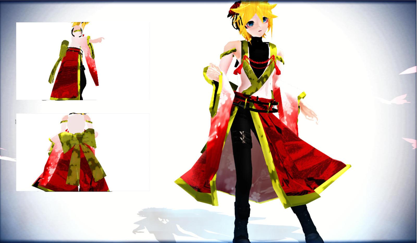 MotMe: NC Len VanaN'Ice Style by oOIchibiOo