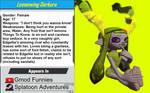 Splatoon Character Profile: Lemonwing