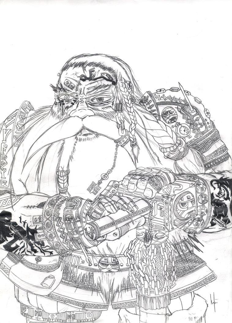 Dwarf Engineer by TheLandoBros