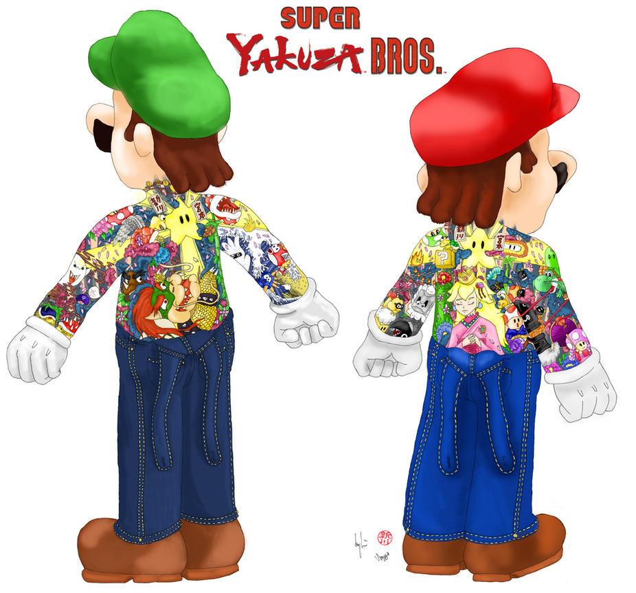 Super Yakuza Bros. by TheLandoBros