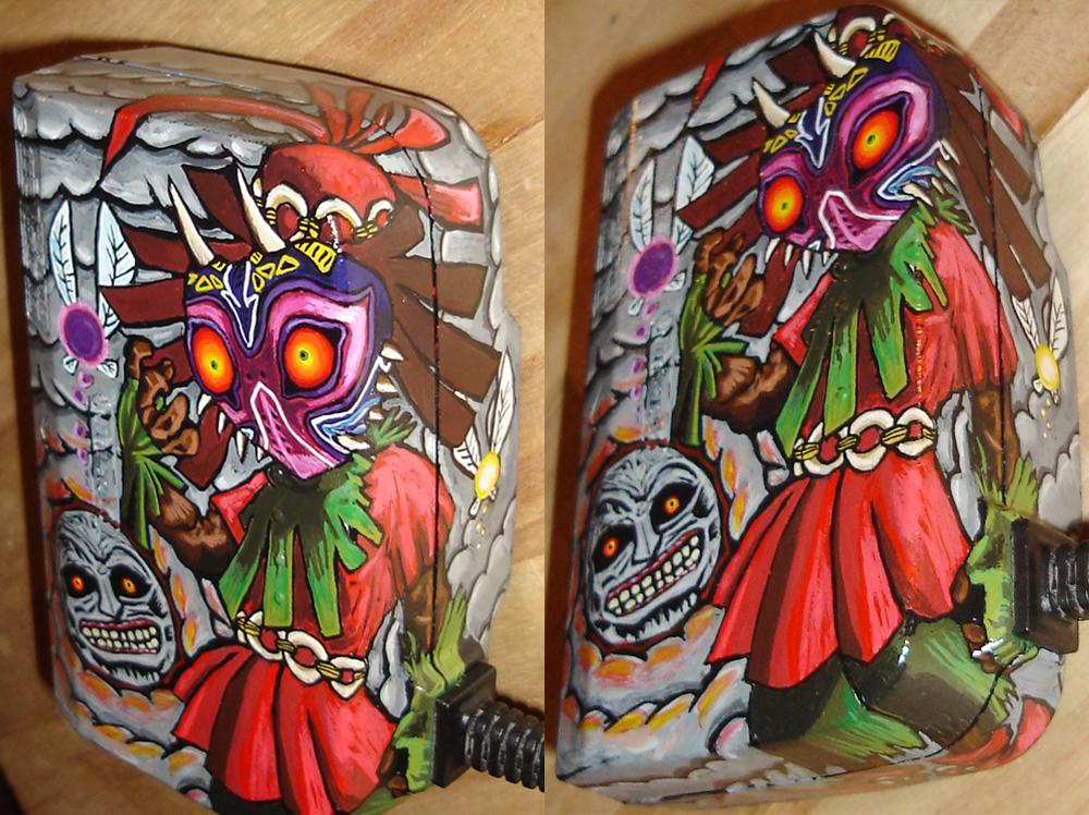 Skull Kid Detail by TheLandoBros