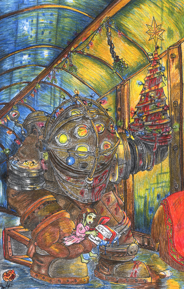 Bioshock Christmas by TheLandoBros