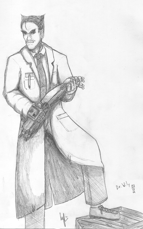 Dr. Albert Wily by TheLandoBros