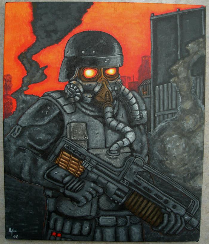 Killzone Painting by TheLandoBros