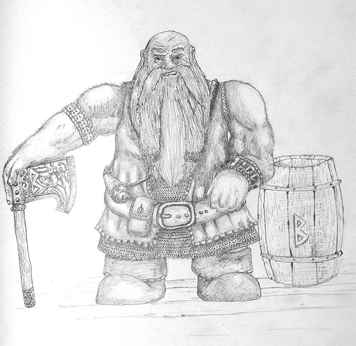 Dwarf - Innkeeper by TheLandoBros