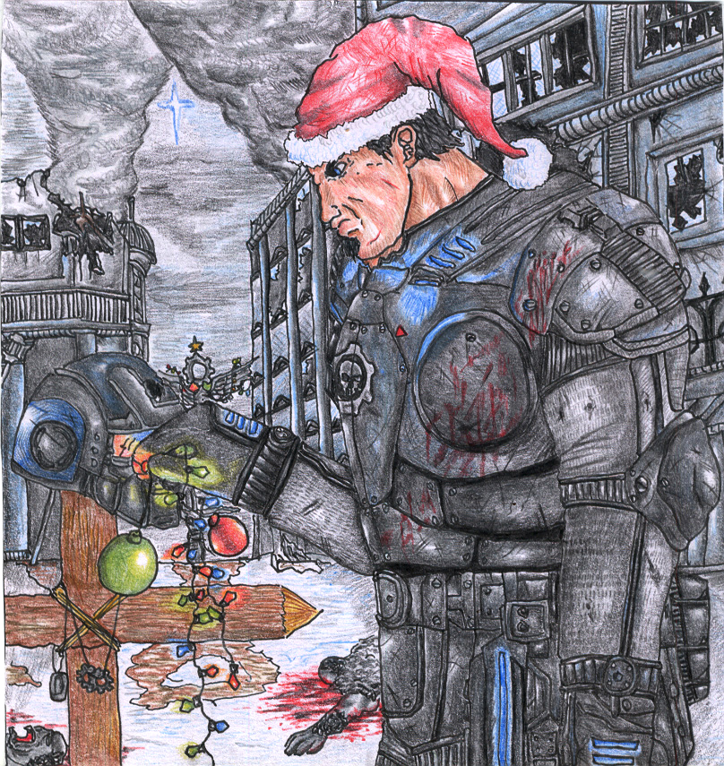 Gears of Christmas by TheLandoBros