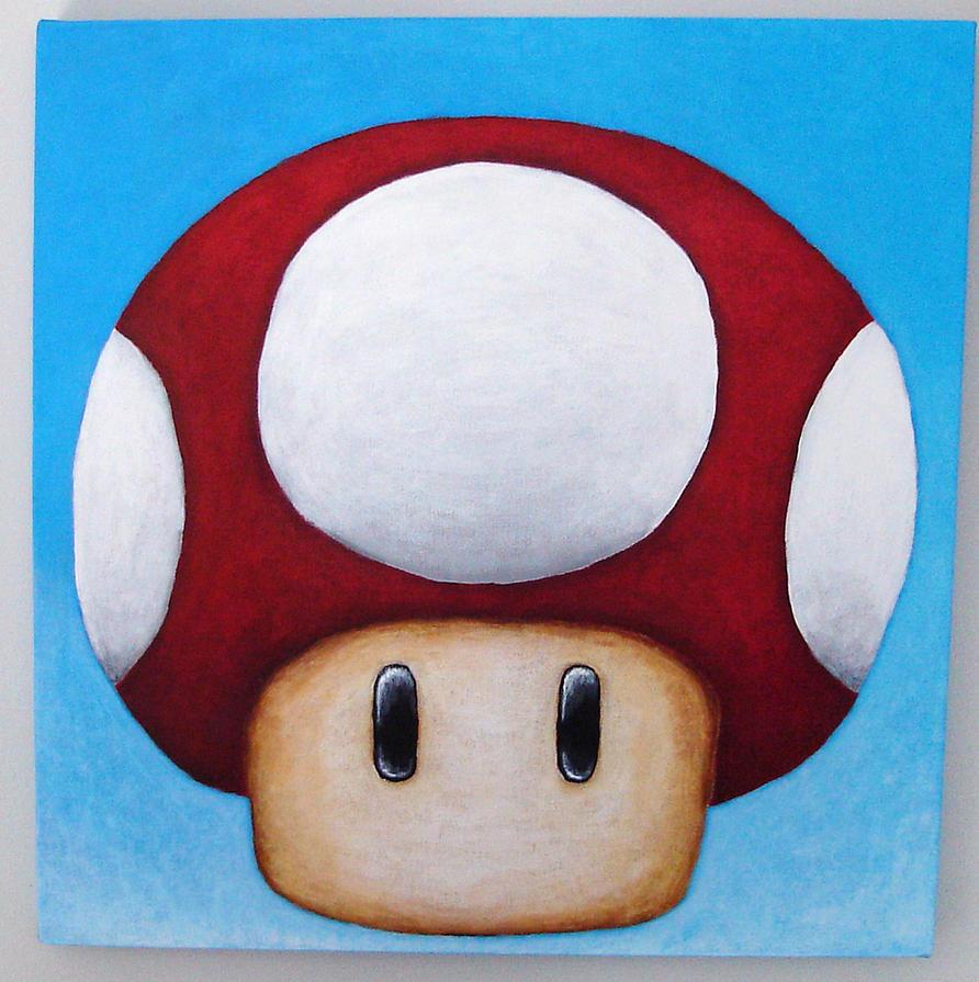Super Mario - Power Mushroom by TheLandoBros