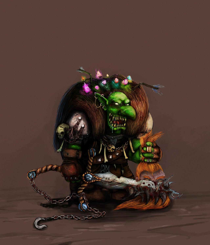 Rafgar Goblin Lord by TheLandoBros