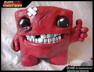 Super Meat Boy - Sculpt by TheLandoBros