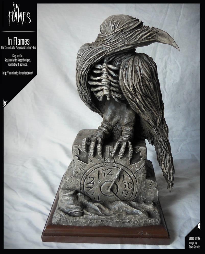 In Flames - Bird Sculpture (SoaPF)