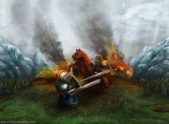 Swords and Arrows by TheLandoBros