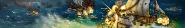 Swords and Arrows Open Seas by TheLandoBros
