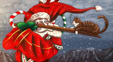 Kabuki Santa Part 3 by TheLandoBros