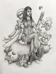 Pokemon Trainer Lili by TheLandoBros
