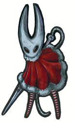 Hornet - Hollow Knight- Christmas Card 2019 by TheLandoBros