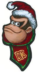 Donkey Kong Christmas Card 2019 by TheLandoBros