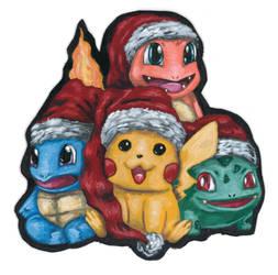 Pokemon Christmas Card 2019