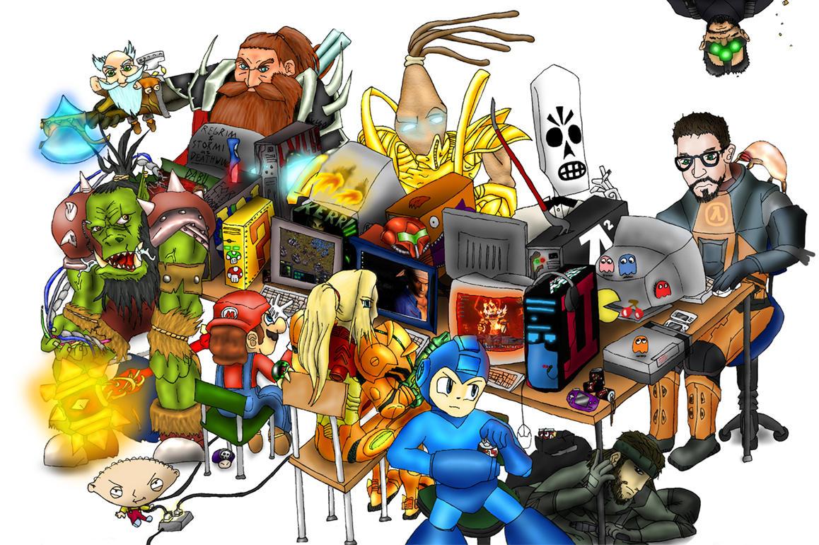 GeekMeet LAN Poster 2 by TheLandoBros