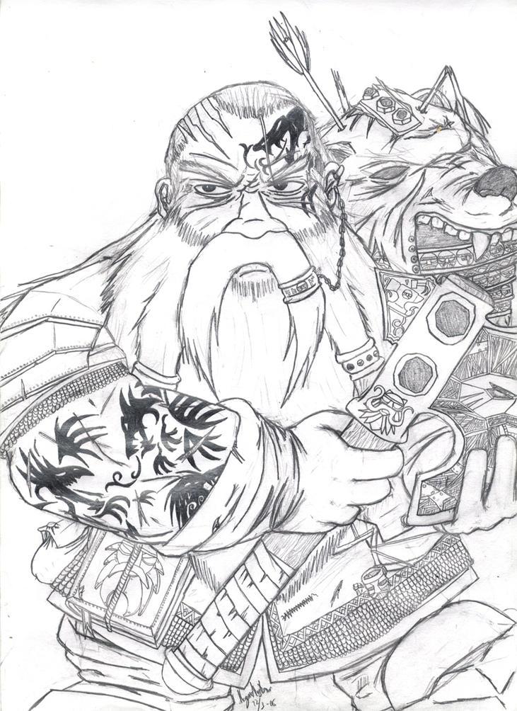 Dwarf Ironbreaker - Warhammer by TheLandoBros