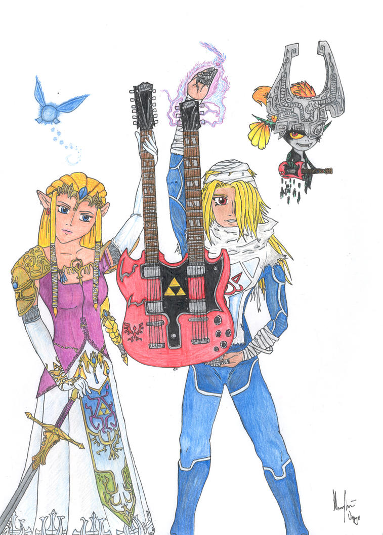 Zelda - LLR'n'R - 2nd Color by TheLandoBros