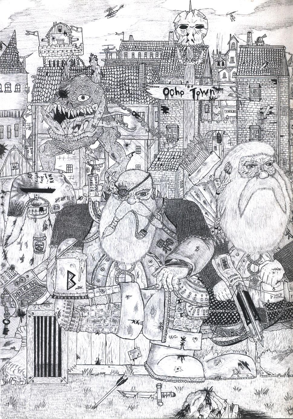 Warhammer Dwarfs by TheLandoBros