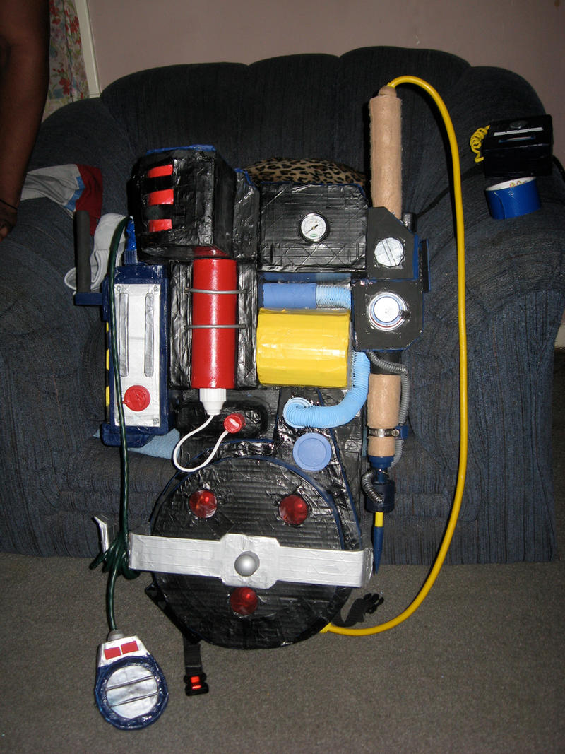 Real Ghostbusters Proton Pack By Angstyguy On Deviantart
